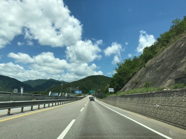 Cruising through the roads of South Korea