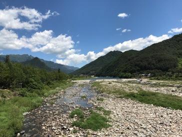 Scenery along the way to Seoraksan National Park