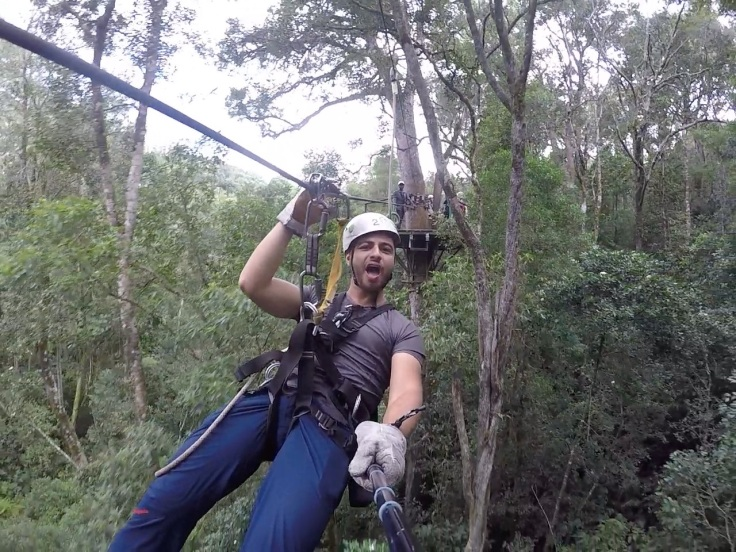 Zip-lining South Africa