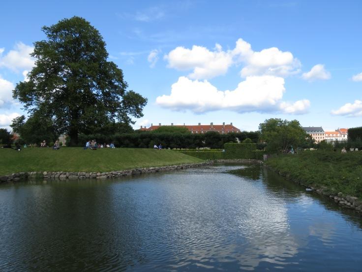 Castle park in Copenhagen