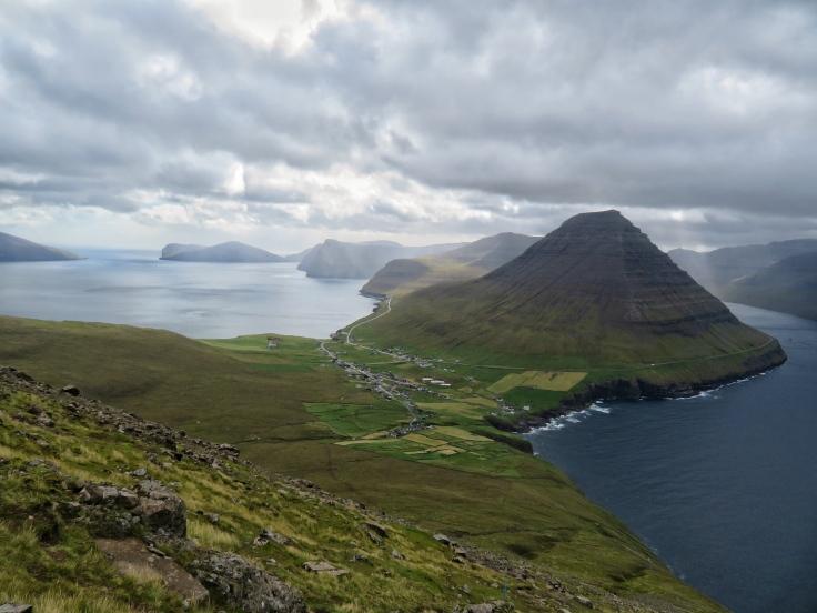 Enniberg Trailhead in the Faroe Islands