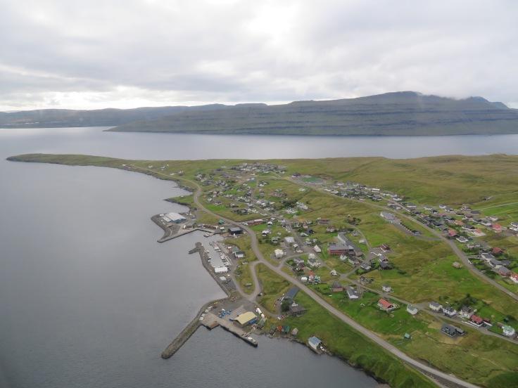 Faroe Islands helicopter ride