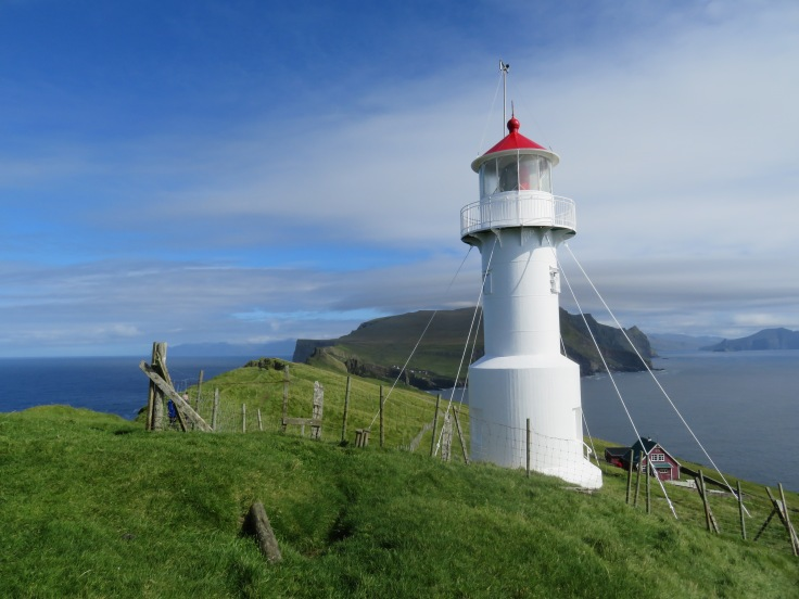 The lighthouse of Mykines