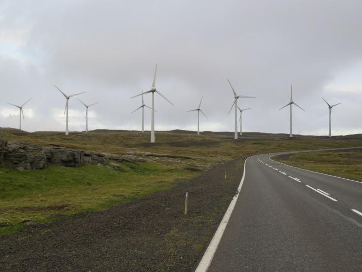 Windmills of the Faroe Islands