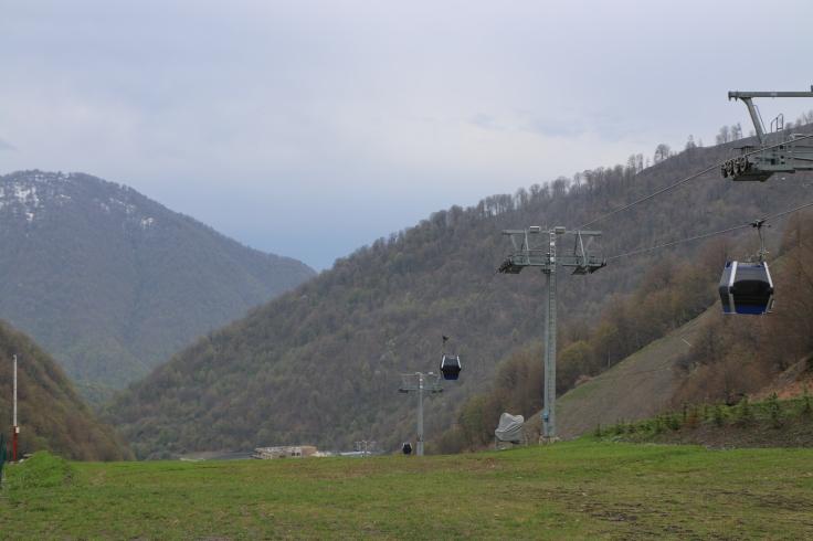 Funicular in Qabala