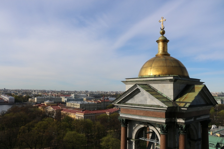 Touring St. Petersburg