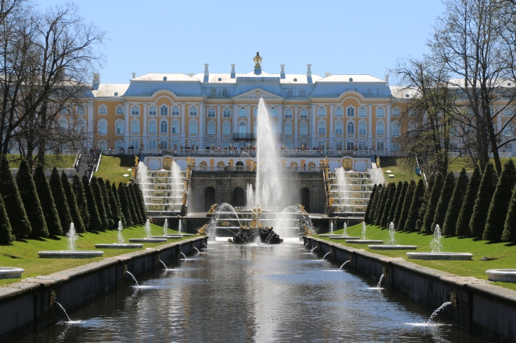 St. Petersburg Peterhof Palace